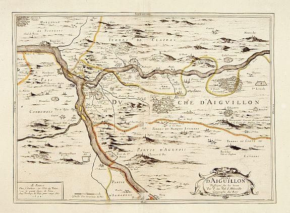 DUVAL, P. -  Duché d'Aiguillon.