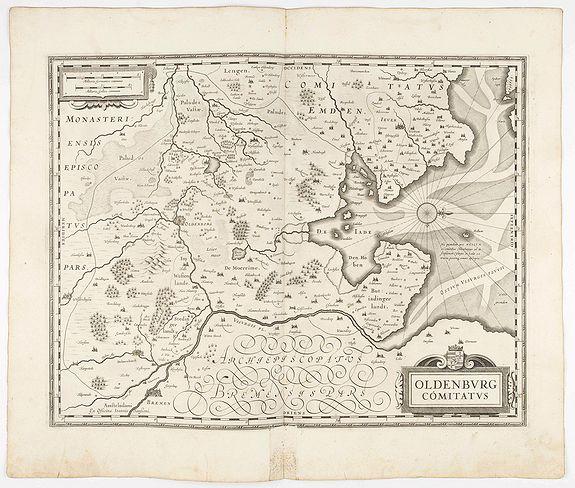JANSSONIUS, J. -  Oldenburg Comitatus