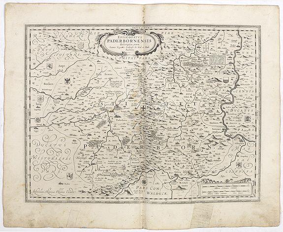 JANSSONIUS, J. -  Episcopatus Paderbornensis