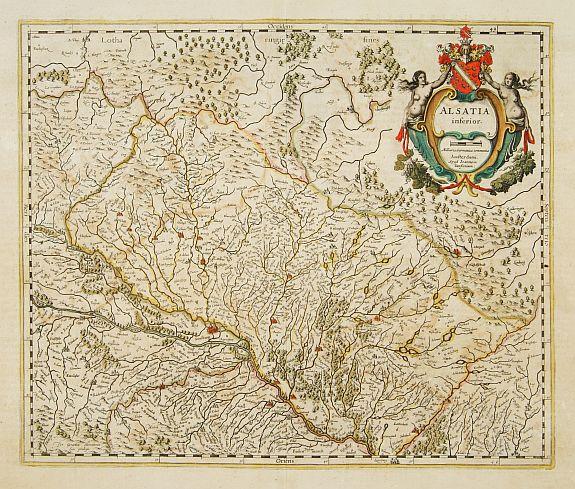 JANSSONIUS, J. -  Alsatia inferior.