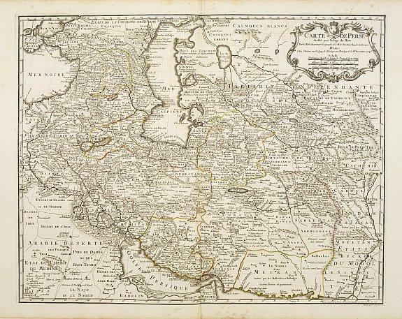 L'ISLE, G. de. -  Carte de Perse dressée pour l'usage du Roy.