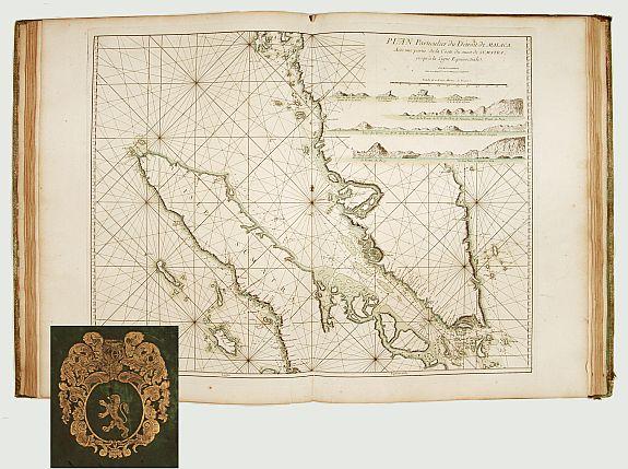 D'APRES DE MANNEVILETTE. -  Le Neptune Oriental ou Routier G�n�ral des C�tes des Indes Orientales et de la Chine�