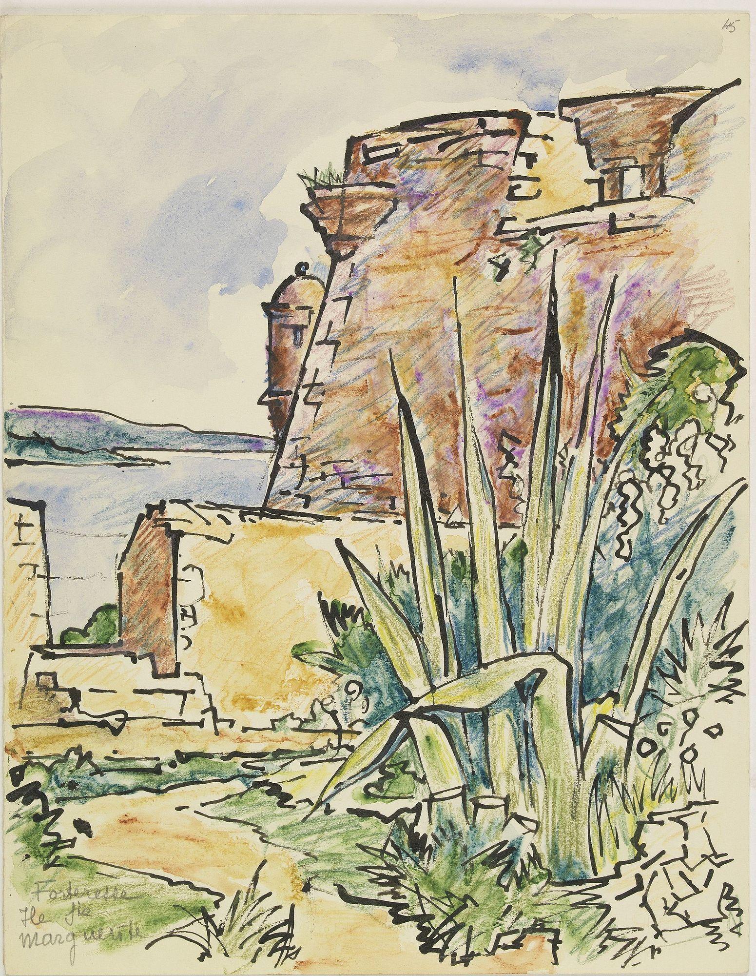 PAUTY, E. -  Forteresse Ile Ste Marguerite.