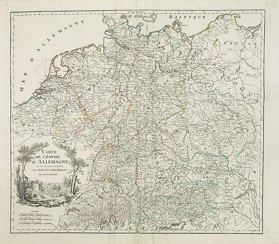 ROBERT DE VAUGONDY, G. -  Carte de l