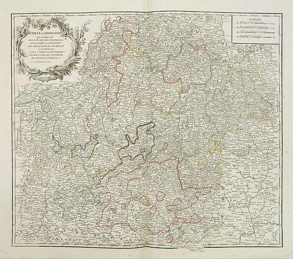 ROBERT DE VAUGONDY, G. - Cercle de Franconie . . .
