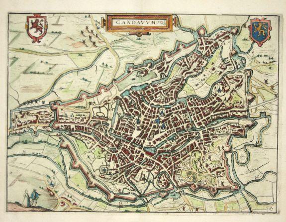 GUICCIARDINI  L. - Gandauum  Ghent