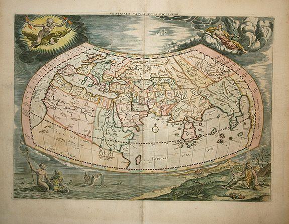 MERCATOR,G. - Universalis Tabula Iuxta Ptolemaeum