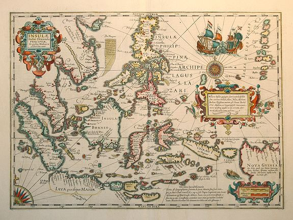 Old Map By HONDIUS Insulae Indiae Orientalis - The old map company