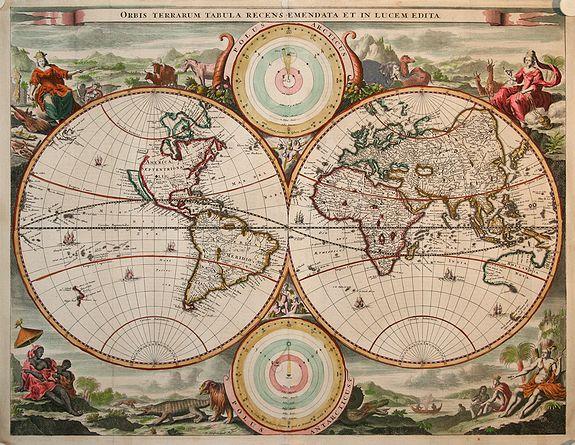 STOOPENDAAL,D. - Orbis Terrarum Tabula..