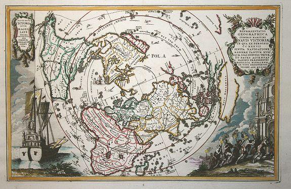SCHERER, H. - Repraesentatio Geographica Itineris Maritimi Navis Victoriae..