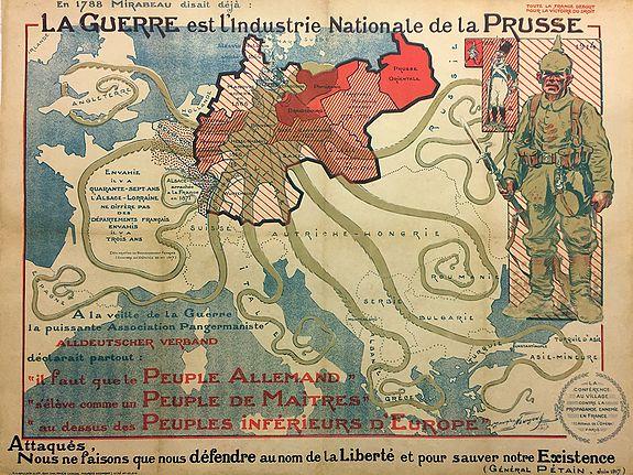 NEUMON, Maurice. - La Guerre est l'industrie Nationale de la Prusse.