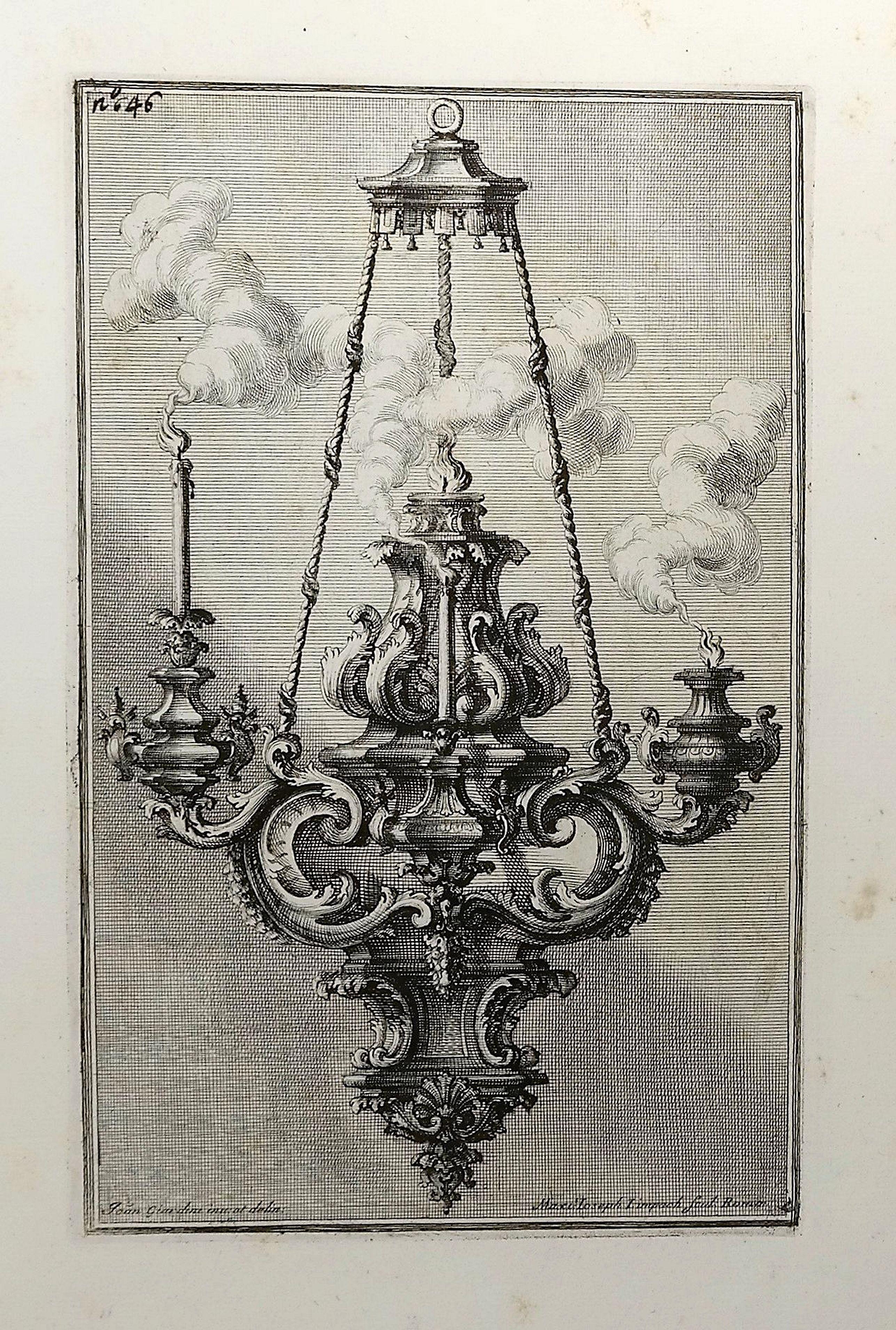 GIARDINI, G. - [Design Art] Italian Chandelier No. 46