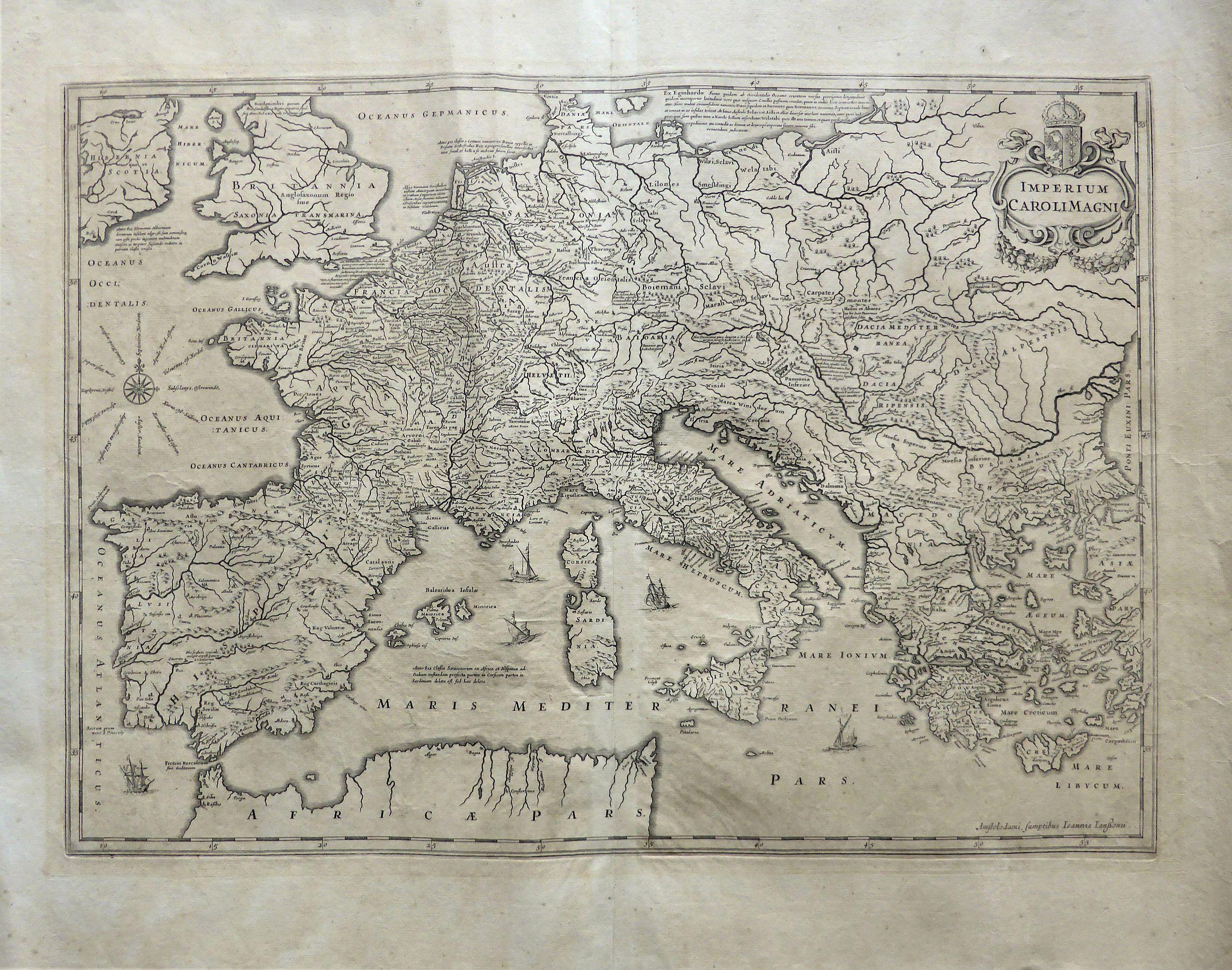 JANSSON, Jan. - Imperium Caroli Magni.