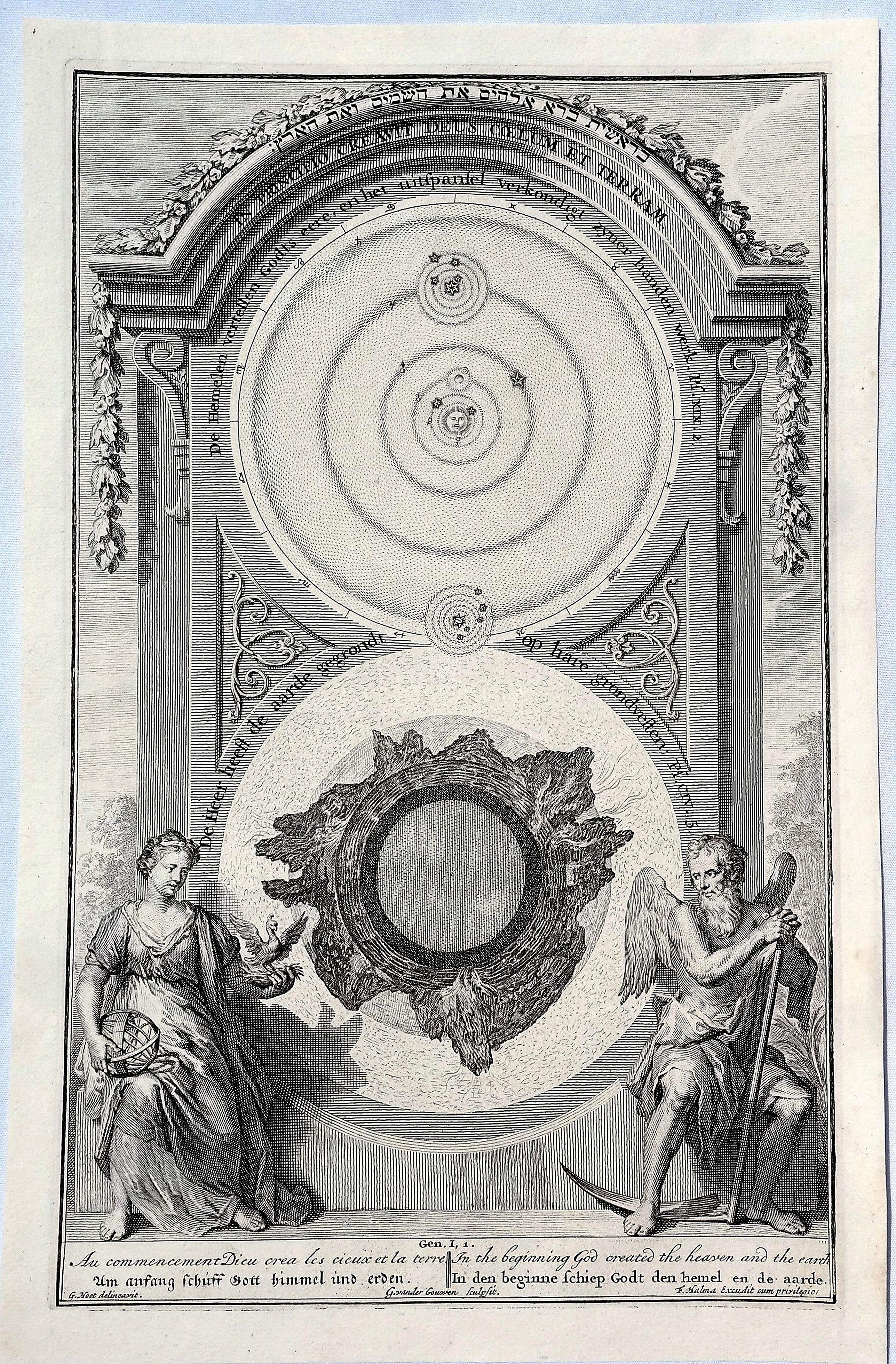HOET, G. - In Principio Creavit Deus Colum et Terram.