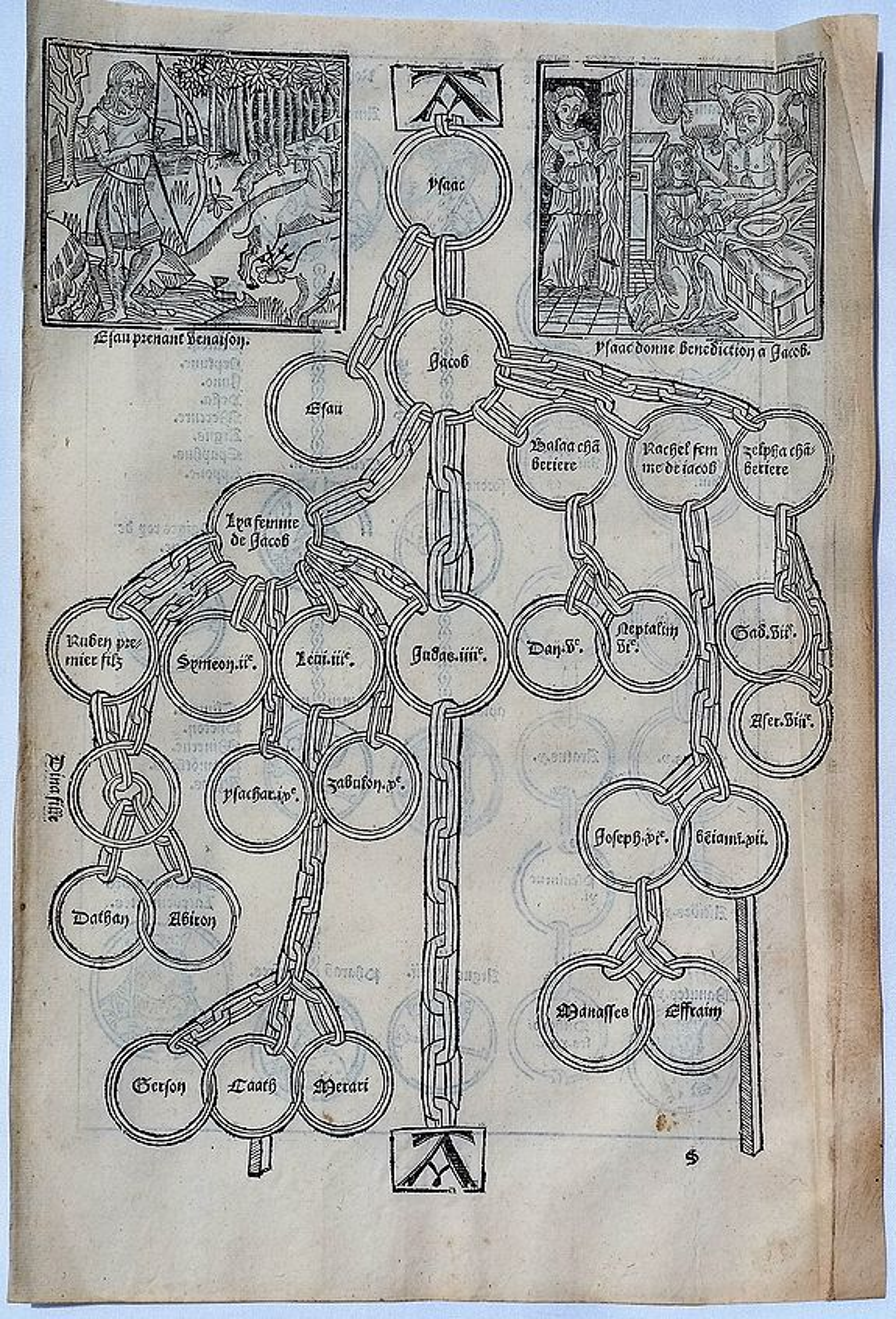 BRANDIS, L. - Woodcut of Aesop's Fables etc.