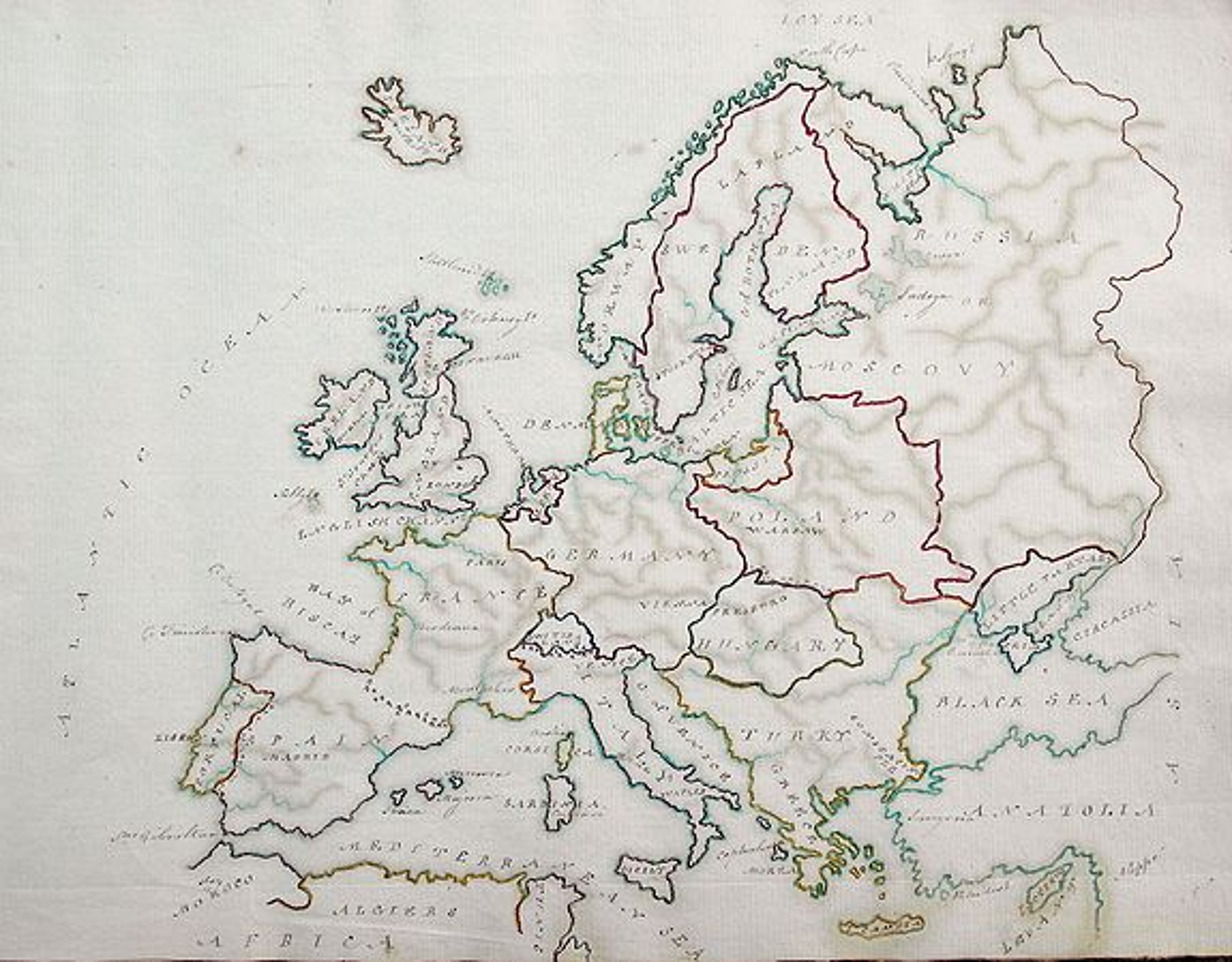 ANONYMOUS - Manuscript Atlas.