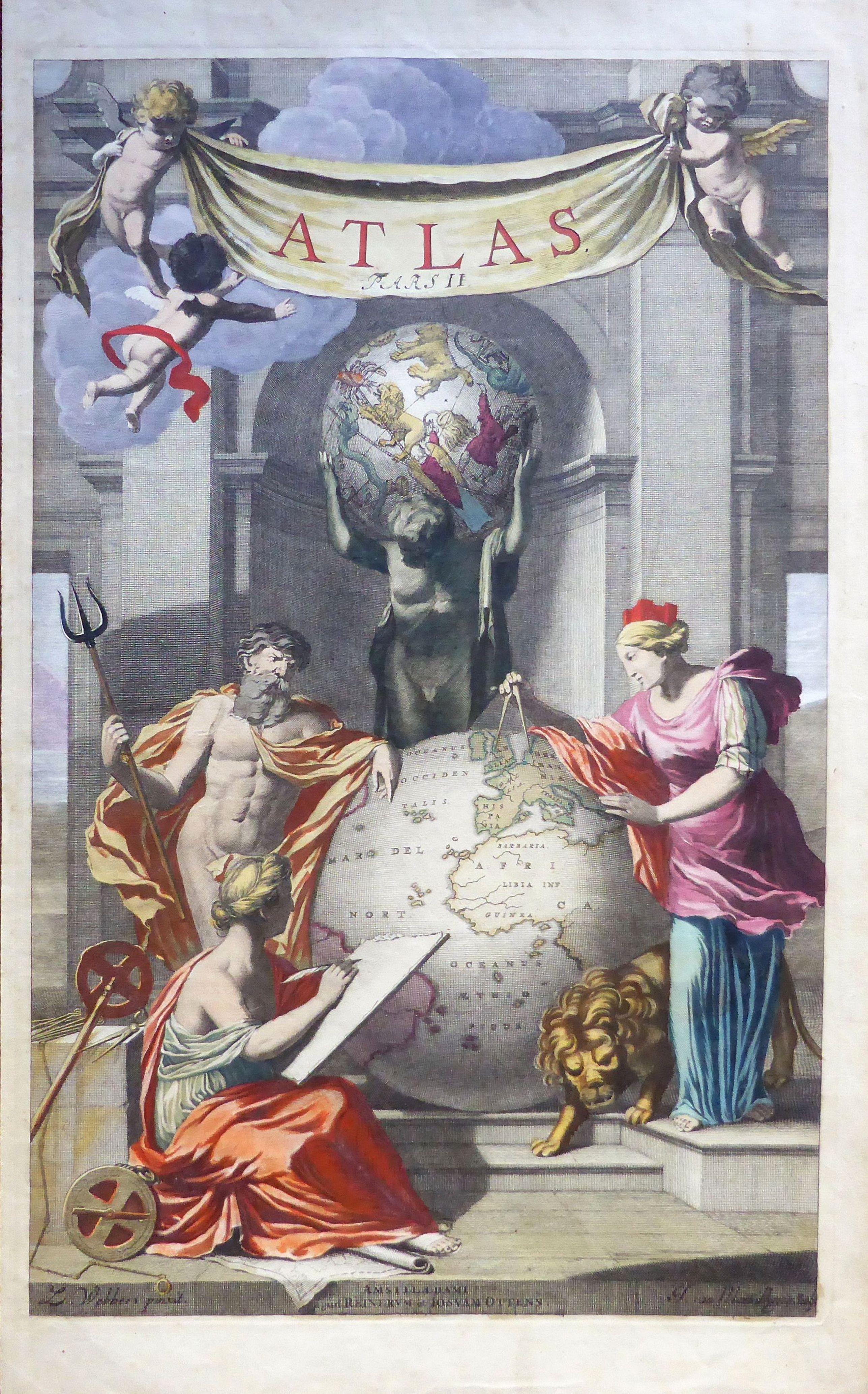 J van Munnikhuysen.  - ATLAS PARS II.