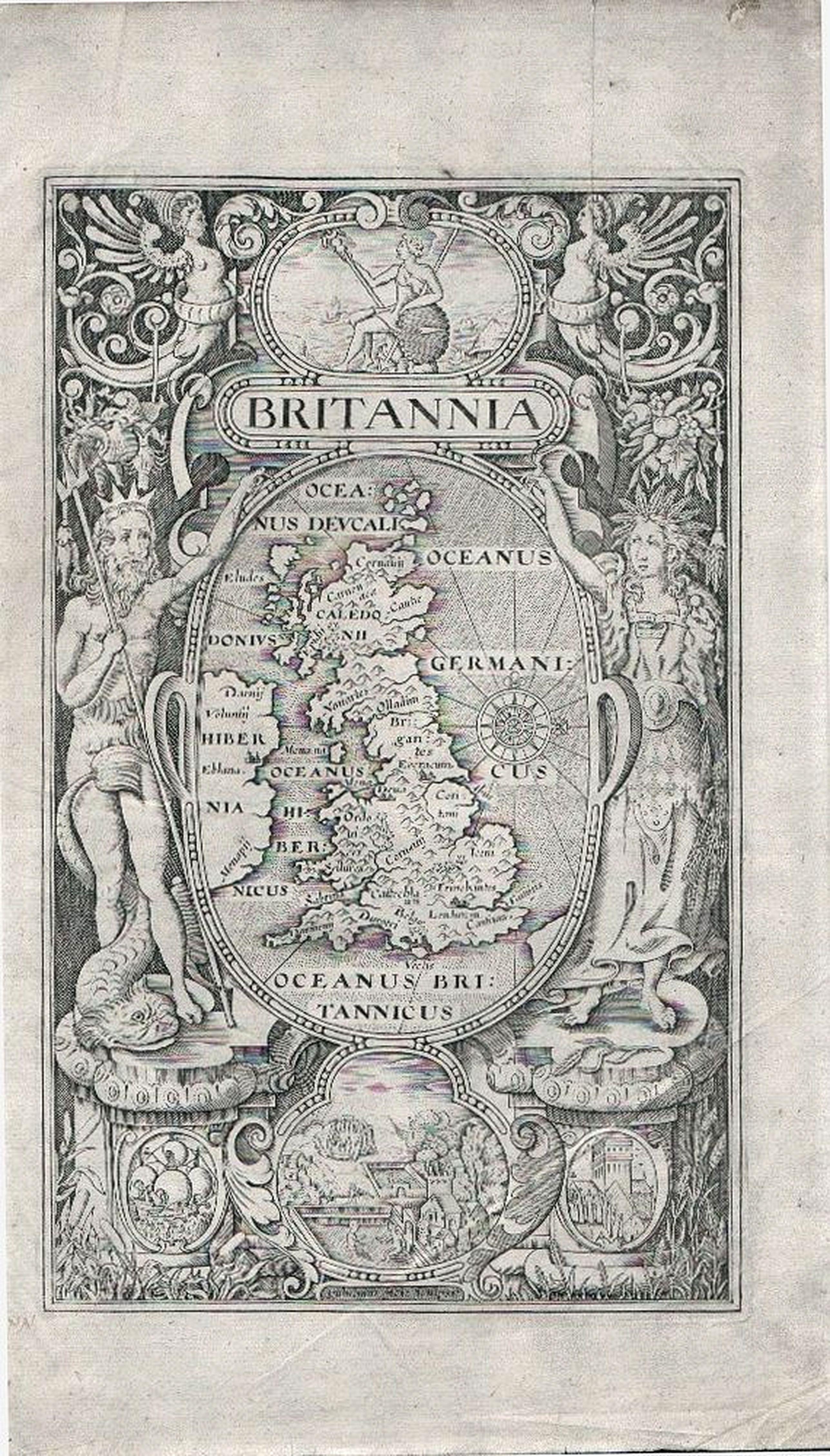 HOLE, William.  -  William Camden's 'Britannia'.