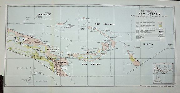 Hutchison, J.D. - The Territory of New Guinea.