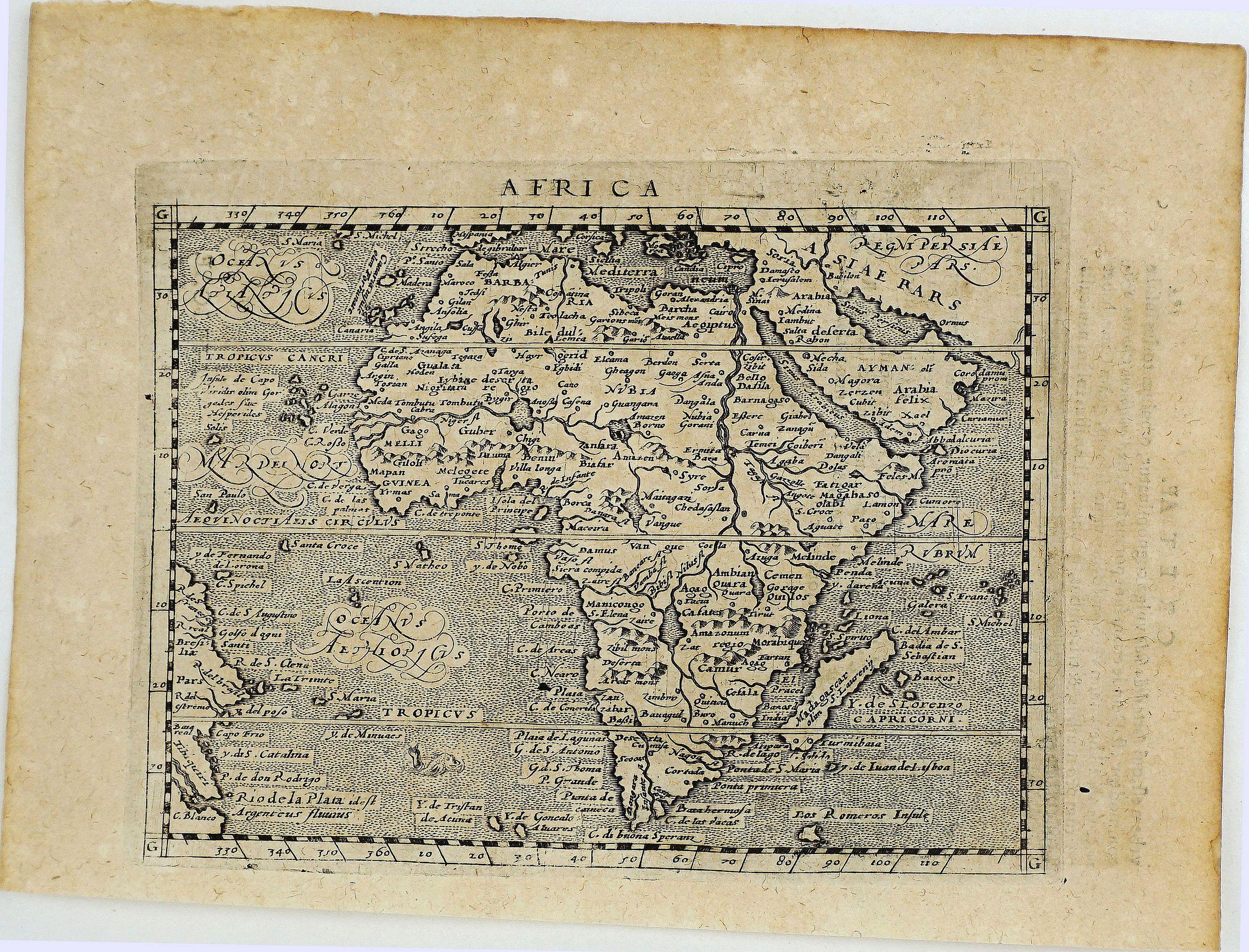 MAGINI, G. A. - Africa.