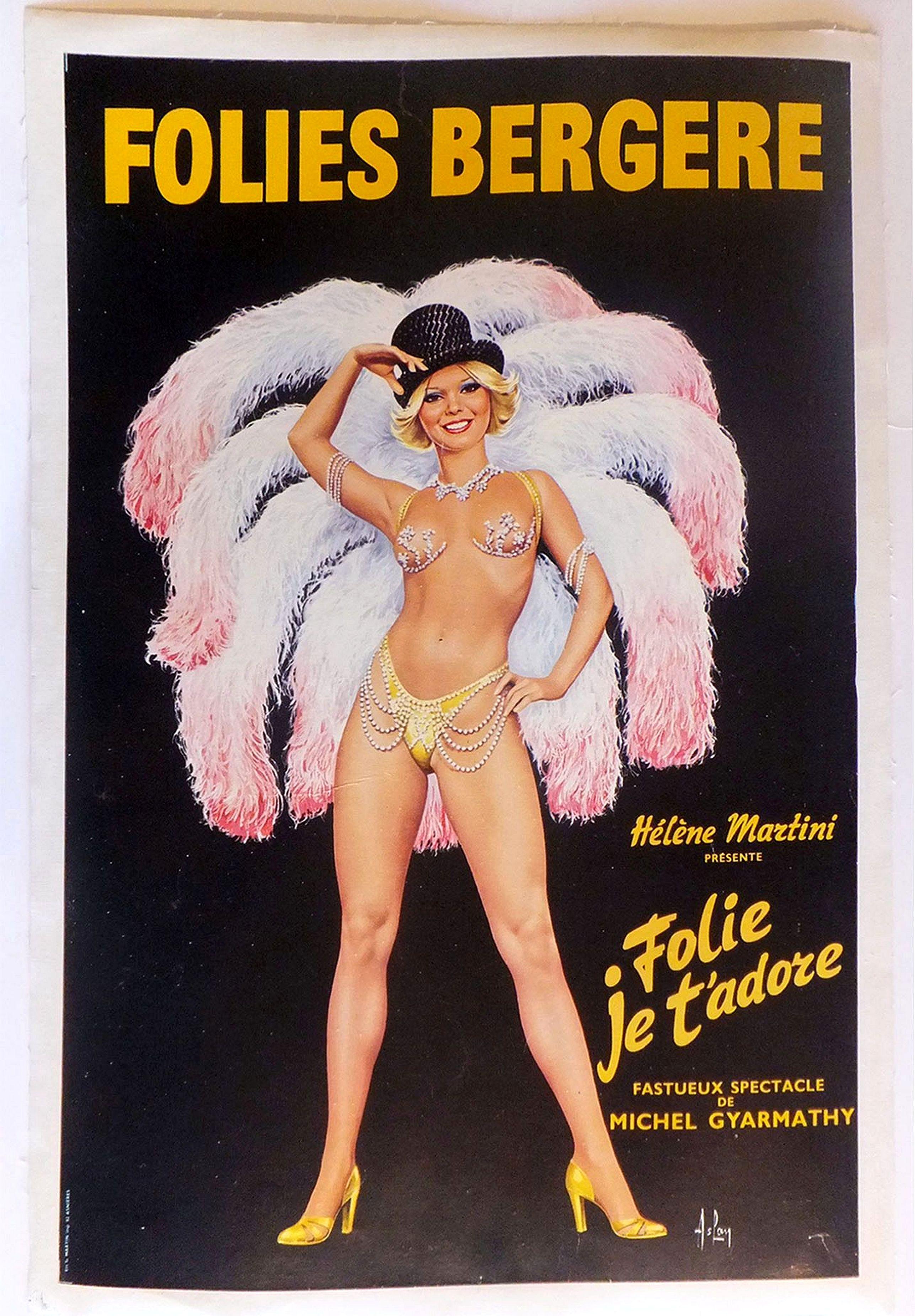 ASLAN. -  Folies Bergère - Hélène Martini présente Folie je t'adore. . .
