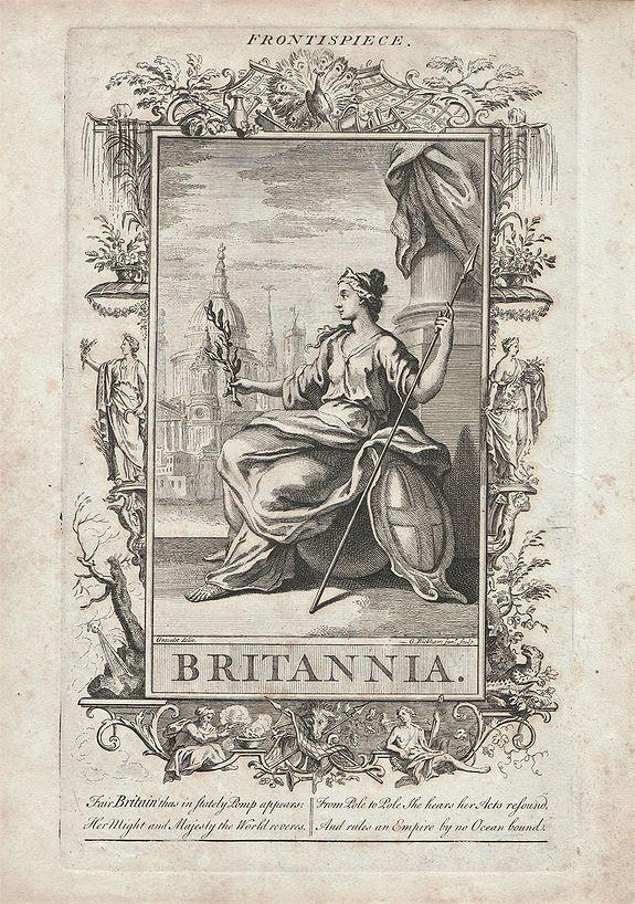 BICKHAM, George. - Britannia.