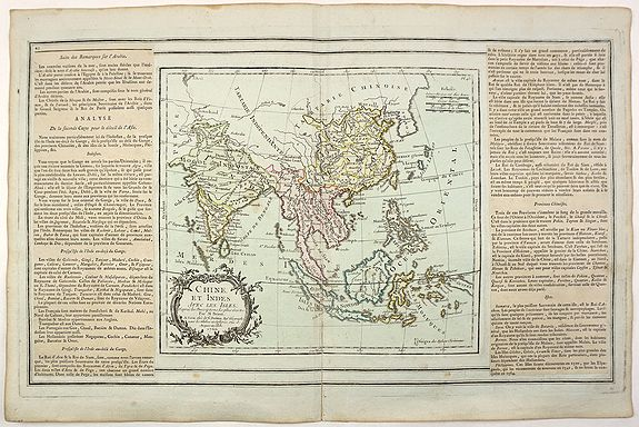 BRION, L. - Chine et Indes Avec les Isles. . .