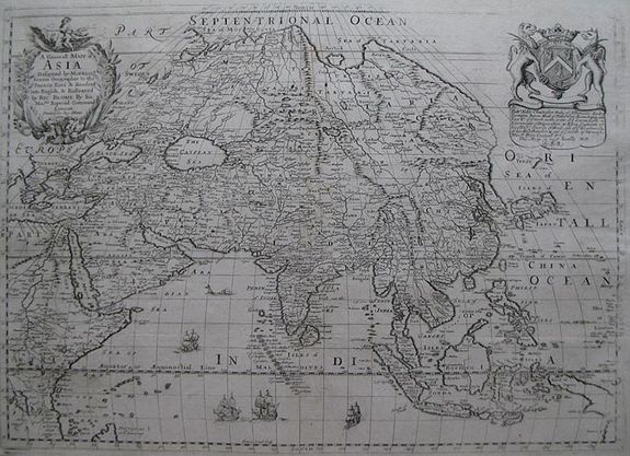 BLOME, R. - A Generall Map of Asia.