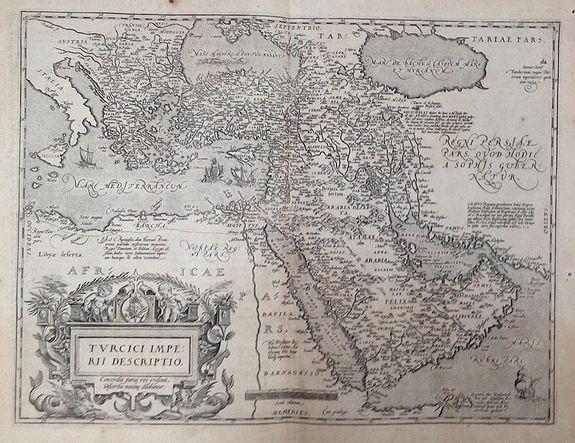 ORTELIUS, A. - Turcici imperii descriptio.