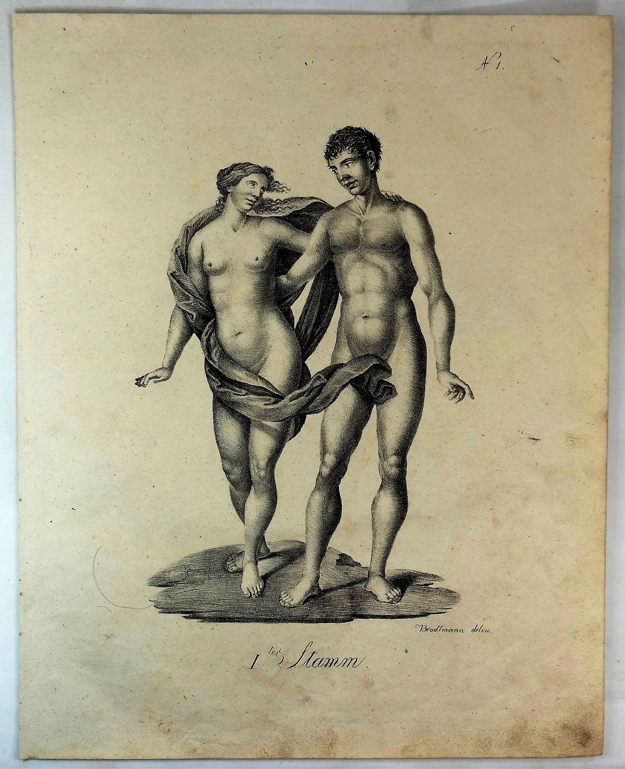 BRODTMANN, J. - Adam & Eve (1 ter Stamm).
