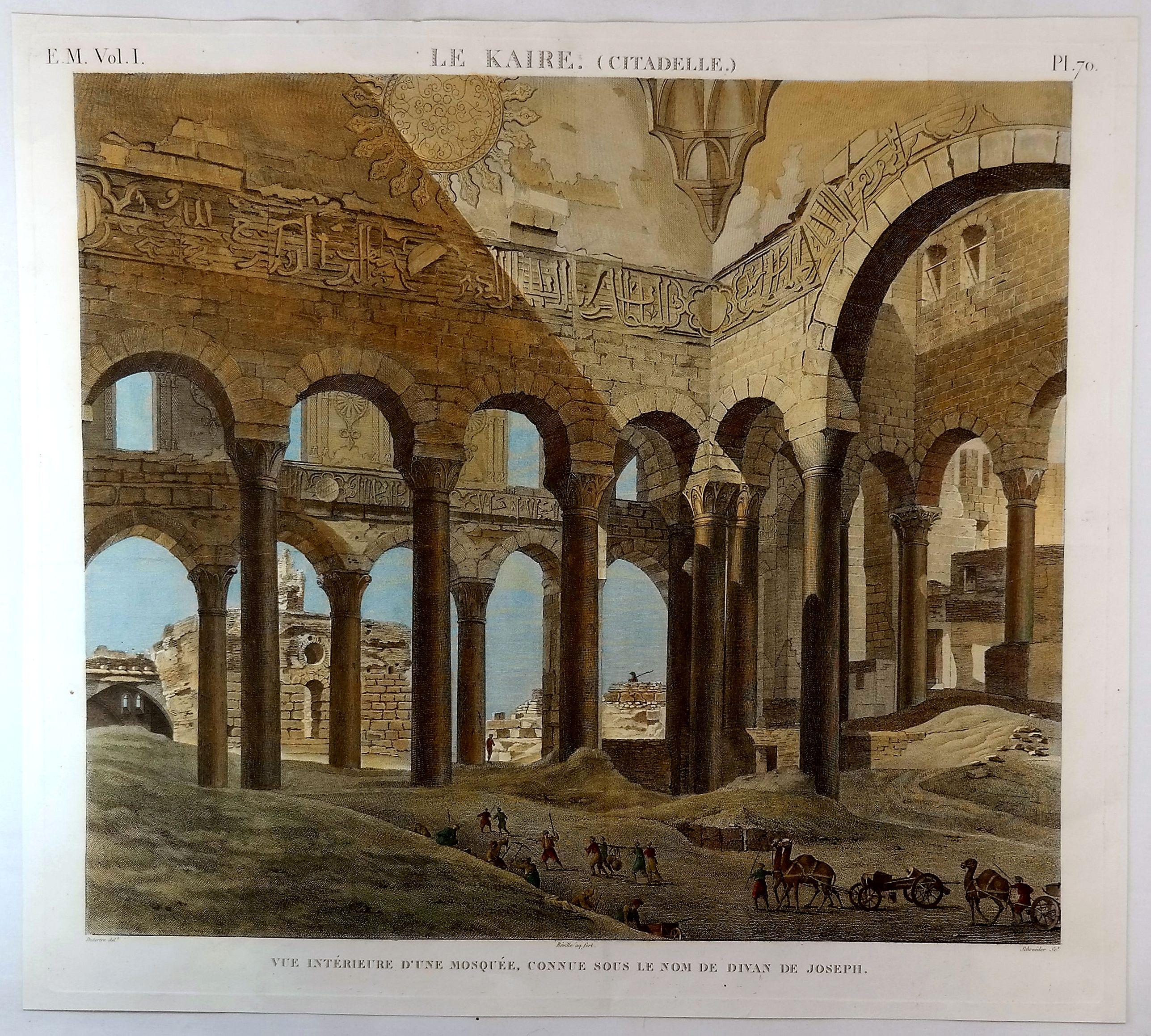 DUTERTRE. - Le Kaire (Citadelle) Vue Interieure D'Une Mosquee. . .