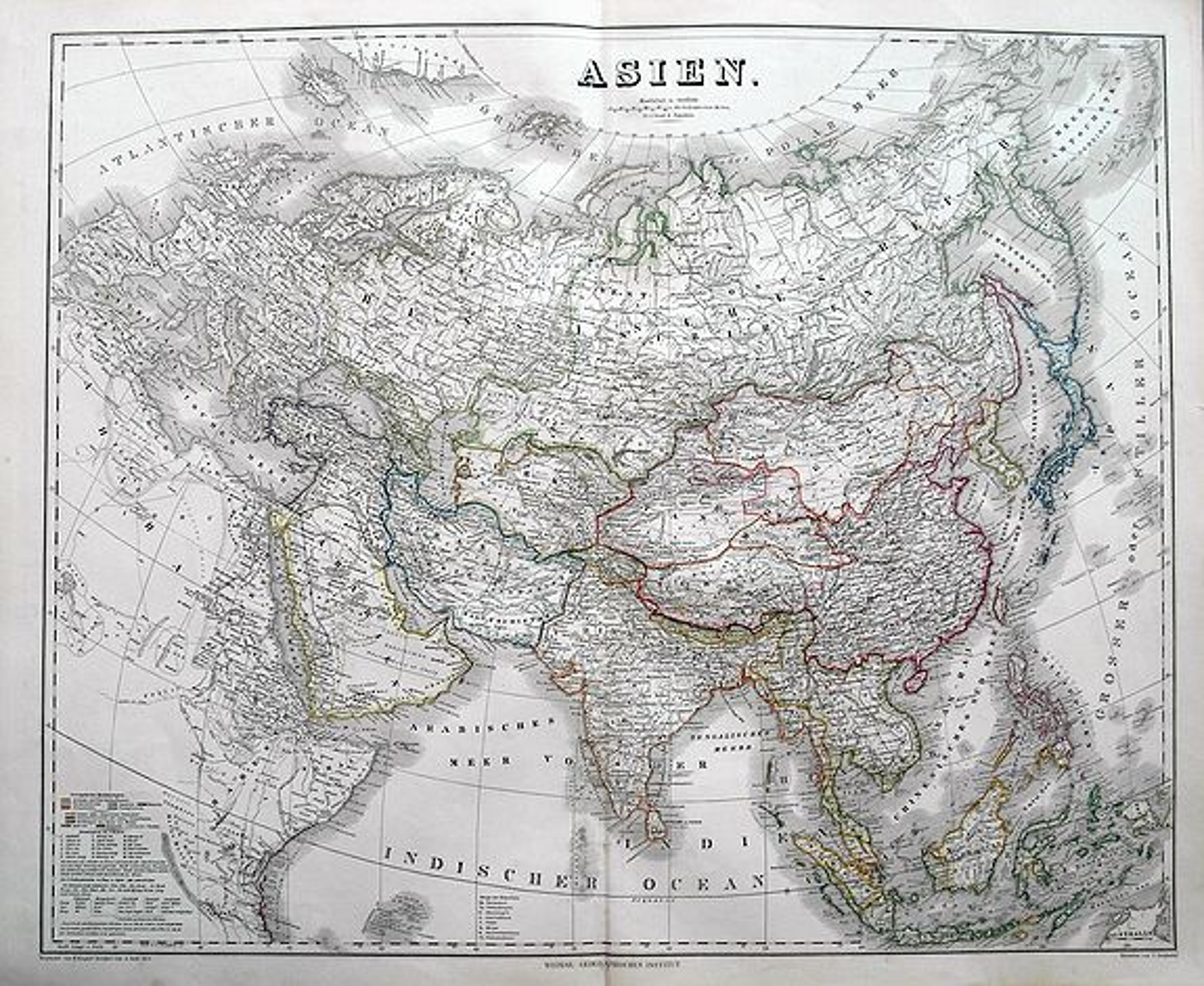 KIEPERT, H. - Asien.
