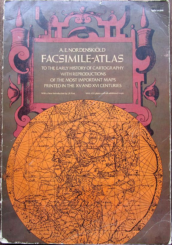 NORDENSKIÖLD, A.E., Facsimile-Atlas to the Early History of Cartography. . ., antique map, old maps