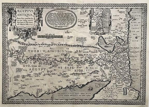 ORTELIUS A. / VRIENTS J.B. - Aegyptus Antiqua Terra suis contenta bonnis. . .