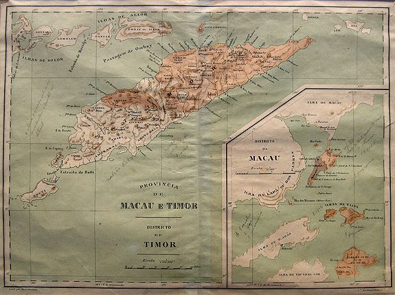 D'OLIVEIRA, A. - Provincia de Macau e Timor