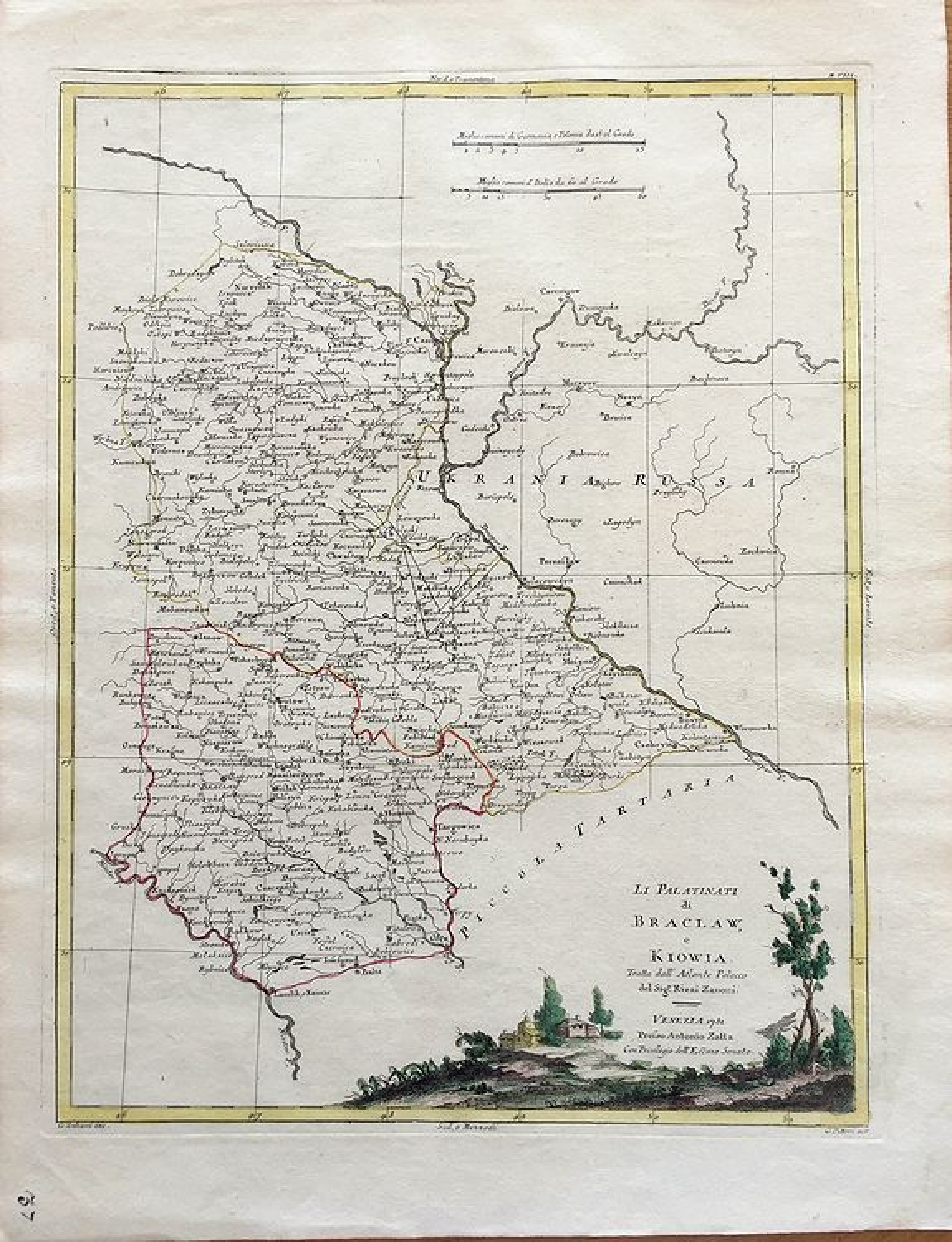 ZATTA, Antonio - Li Palatinati di Braclaw e Kiowa...