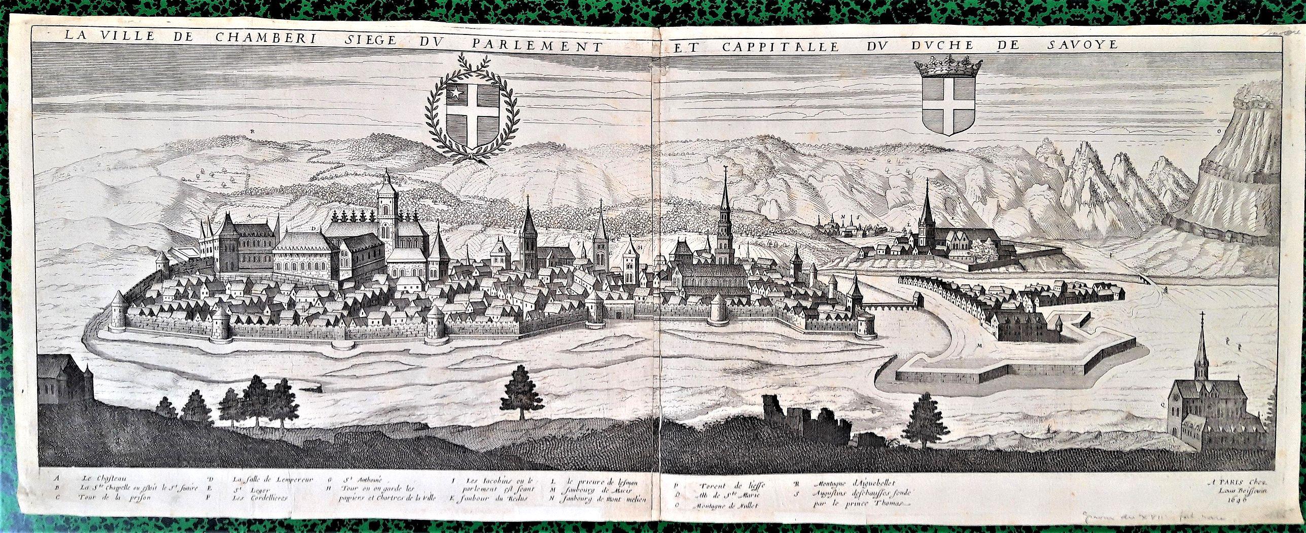 BOISSEAU, Jean. - BOISSEAU Jean 1646. Théatre des Citez.