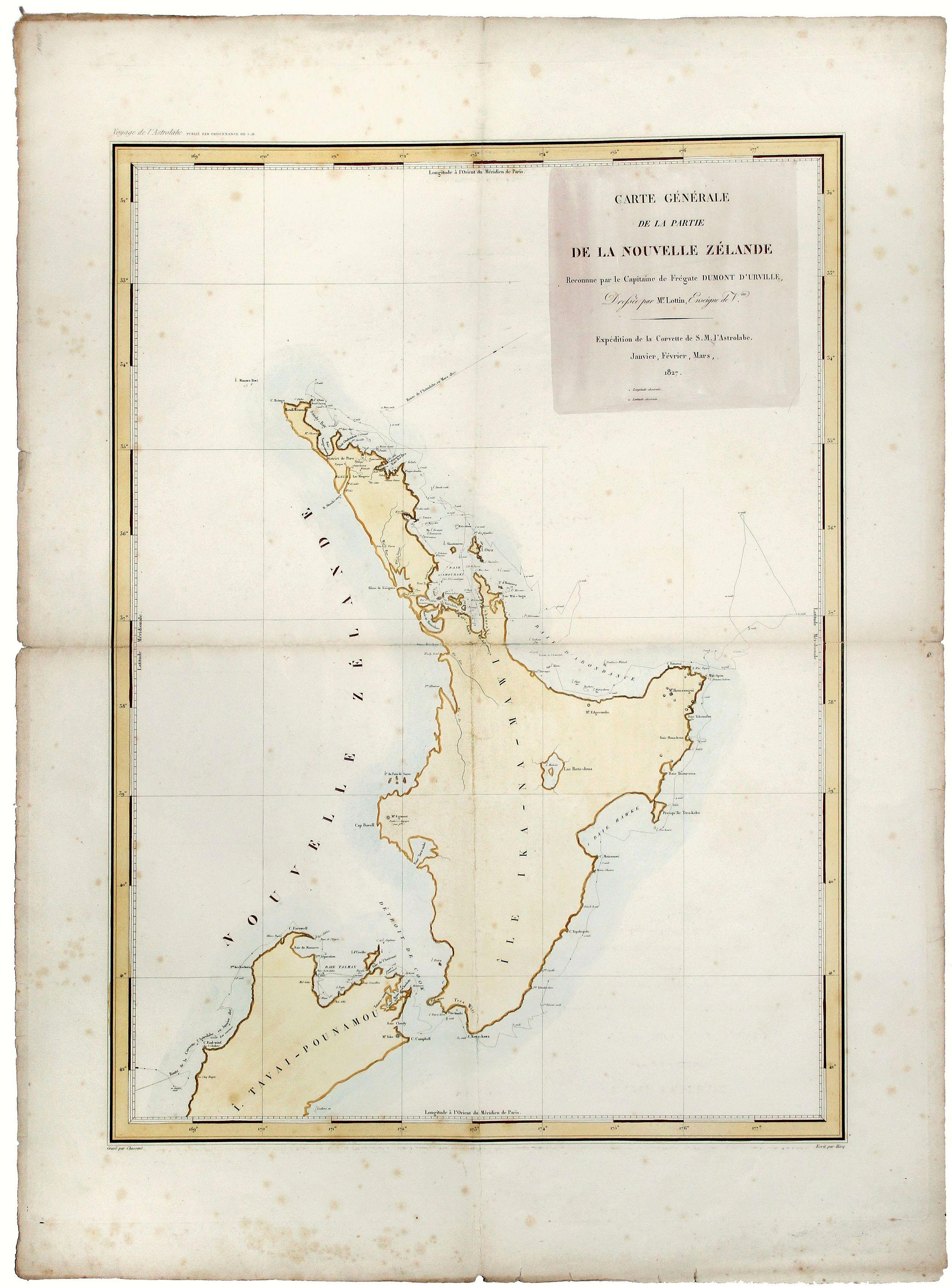 D'URVILLE - Nouvelle Zelande.