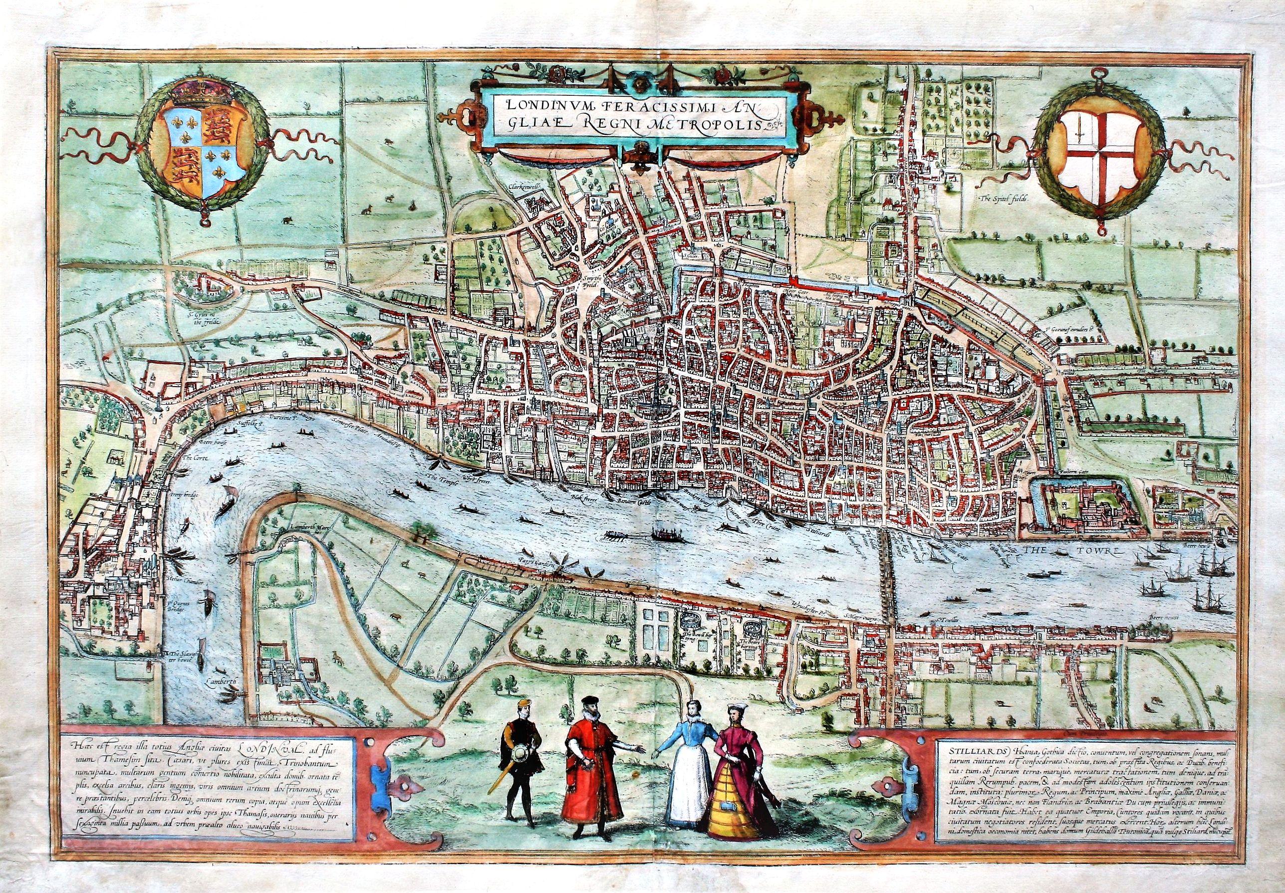 BRAUN, G. / HOGENBERG, F. - Londinum Feracissimi Angliae Regni Metropolis.