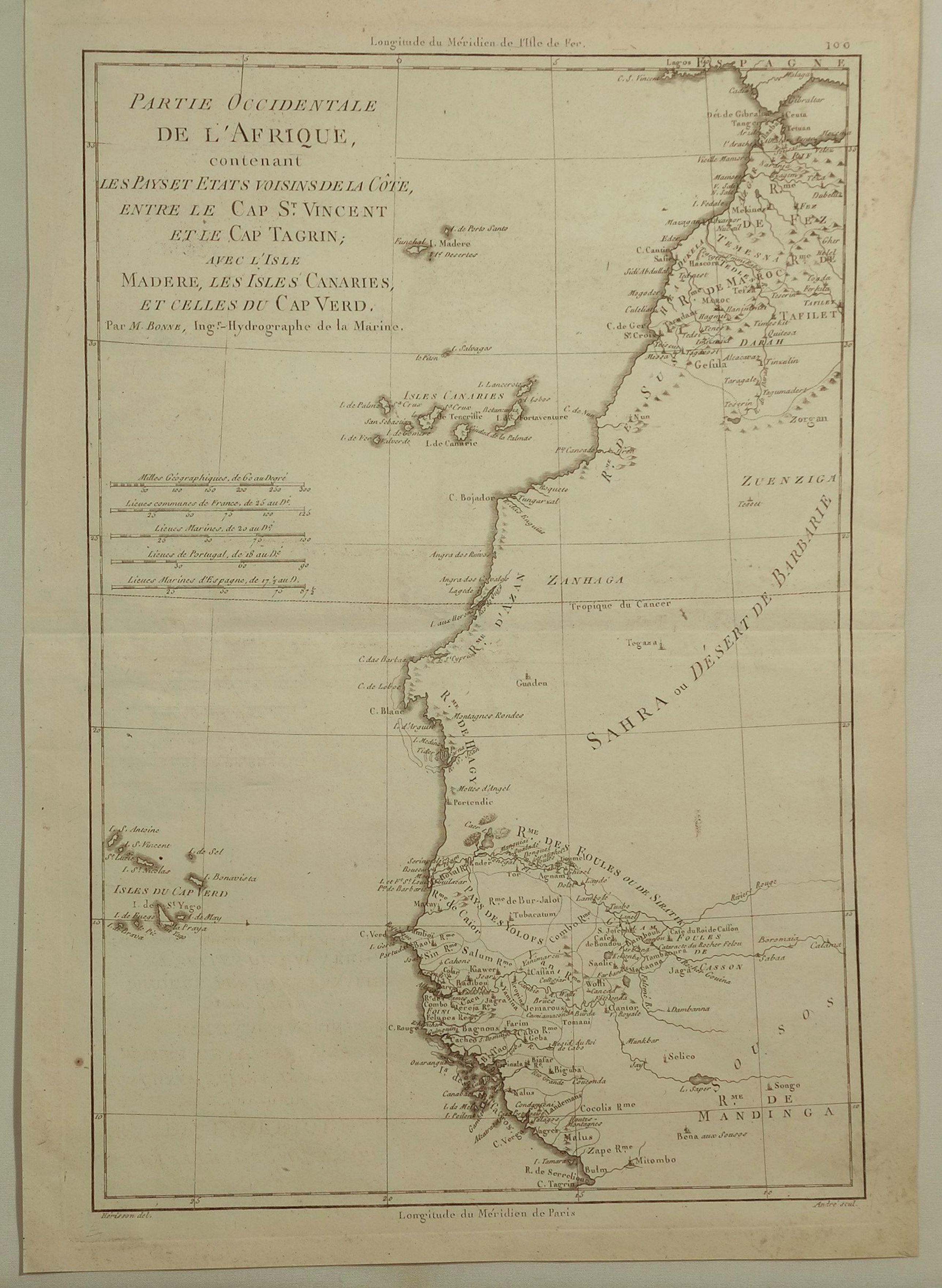 BONNE, R. - Partie Occidentale de L'Afrique. . .