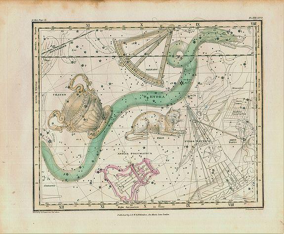 JAMIESON, Alexander - Jamieson Celestial chart plate 26 first edition.