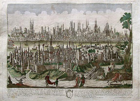 PROBST, G.B. - Constantinopolis.