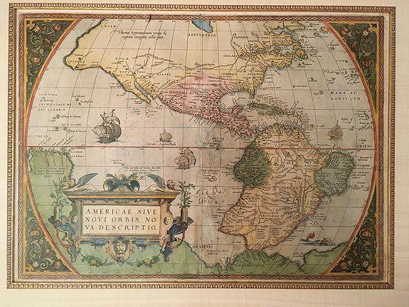 ORTELIUS, A. - Americae Sive Novi Orbis, Nova Descripto.