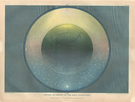 FROST, Isaac / George Baxter. - SET OF SIX MUGGLETONIAN ASTRONOMICAL PRINTS FROMTWO SYSTEMS OF ASTRONOMY.