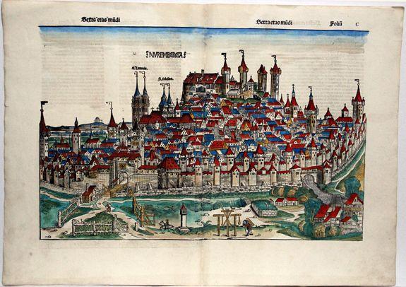 SCHEDEL, Hartmann. - Nuremberga. (Nuremberg)