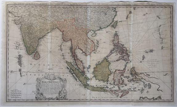 HOMANN HEIRS, after MEYER, Tobias. - Carte de Indes Orientales.