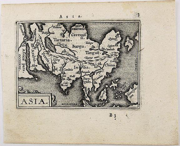 ORTELIUS, A. - Asia.