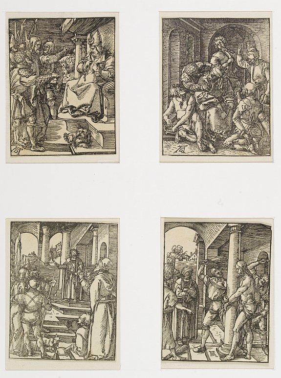 DÜRER,A. - Four woodcuts by Albrecht Dürer.