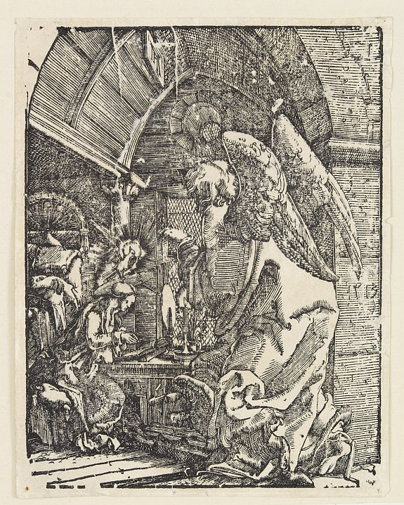ALBRECHT ALTDORFER (1480-1538). - Annunciation.