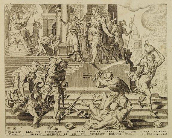 VAN HEEMSKERK,M.van / GALLE,J. - Temple of Baal.